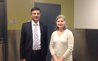 Mr. Rajiv Yadav, Secretary (Sports) & CEO, NDTL visited Anti Doping Lab, Montreal, canada on May 04, 2016. Prof. Christiane Ayotte, Director of the Lab and a pioneer in Anti Doping Science shared her views about various issues which was an enriching experience.