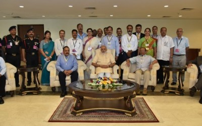 PM with Rio team