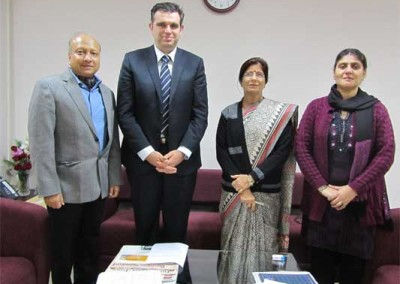 Visit of Dr. Ir. Peter Van Eenoo, Director, DoCoLab, Ugent, Belgium from 19 - 22 Jan, 2014 Scene 1