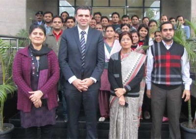 Visit of Dr. Ir. Peter Van Eenoo, Director, DoCoLab, Ugent, Belgium from 19 - 22 Jan, 2014 Scene 2