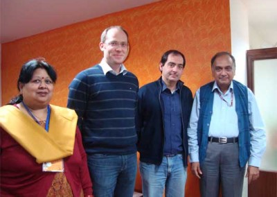 Prof. Mario Thevis, Cologne, Germany and Dr. Xavier De la Torree, Rome, Italy visited NDTL from Dec' 3 – 7, 2012.  Scene 1