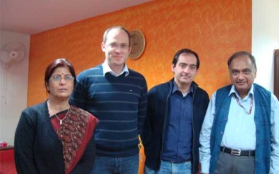 Prof. Mario Thevis, Cologne, Germany and Dr. Xavier De la Torree, Rome, Italy visited NDTL from Dec' 3 – 7, 2012. Scene 2