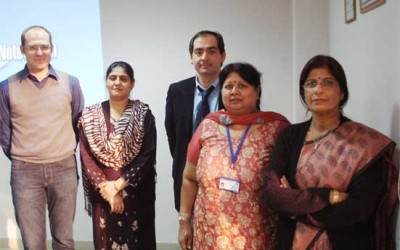 Prof. Mario Thevis, Cologne, Germany and Dr. Xavier De la Torree, Rome, Italy visited NDTL from Dec' 3 – 7, 2012. Scene 3